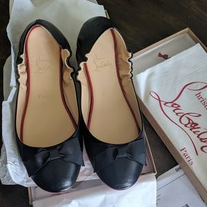 NWT Air Loubi Flats, for indoor wear only